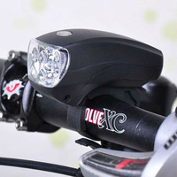 Cycling Bike Bicycle Super Bright 5 LED Front Head Light Lamp Flashlight 3 modes handlebar lights