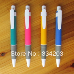Small wholesale/ printing/ printed logo/ advertising/ promotional stationery gift/ plastic ballpoint pen custom logo products(China (Mainland))