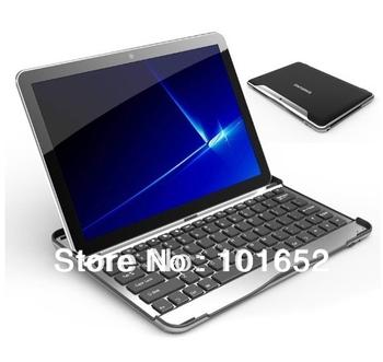 bluetooth wireless keyboard case aluminum for samsung galaxy tab 1 2 10.1 P5100 P5110 P7500 P7510 free shipping BK-TABP51001
