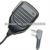 Professional Heavy Duty 2 Pin Shoulder Remote Speaker Microphone PTT For Kenwood TK2170 3107 2212 Baofeng UV-5R 5R Two Way Radio