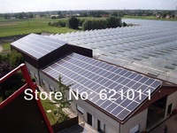 10KW off grid solar power system, solar generaror include solar panel, 10kw inverter and other parts, without battery bank