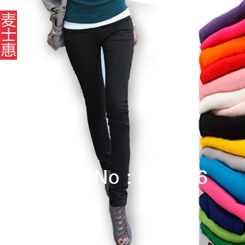 Big DiscountNeal Hui - summer 2013 feet / pencil pants stretch Slim cotton pants large size thin trousers tight trousers commute(China (Mainland))