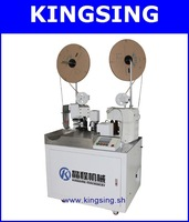 Full-auto Dual Wire Stripping and Crimping machine KS-R3 + Free shipping by DHL air express (door to door service)
