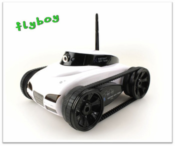 iPhone controlled RC tank,4-CH spy tank with camera