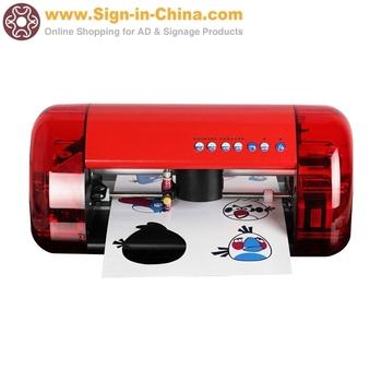 Small Desktop Cutter Plotter A4 Mini Vinyl Cutting Plotter with Contour Cut Function