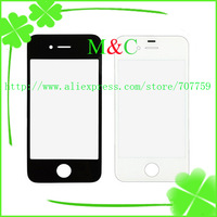 10pcs/lot Wholesale For iPhone 4 4G Front Screen Glass Lens Free Shipping