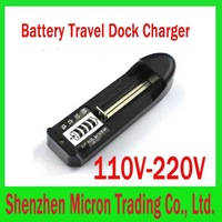 110V-220V Battery Travel Dock Charger 18650 and 14500 Chargers 18650 Battery Rechargers