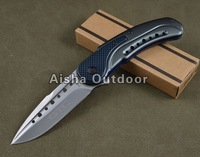 GTC F55 Camping Survival Folding Knife 440C Blade Gift Knife Retail/Wholesale Free Shipping