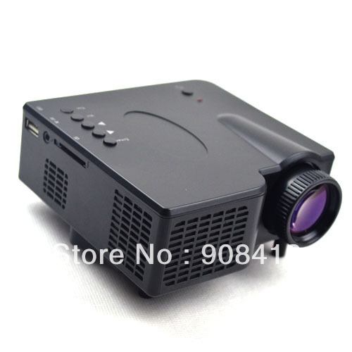 GP-1 18W LCD LED HD Home Multimedia Game Theater Projector - Black dvd projector 3d projector(China (Mainland))
