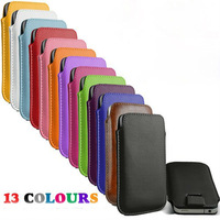 Epacket 1 piece  Free Shipping Leather PU Pouch Case Bag for zopo zp100 Cell Phone Accessories +
