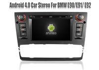 Android 4.0 Car PC Car DVD Player for BMW 3 Series E90 E91 E92 325i/330i/335i with GPS Navigation Stereo Radio Audio TV 3G WIFI