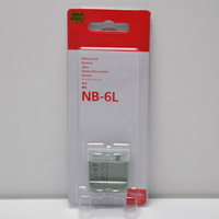 Cheap Digital Battery NB-6L for Canon Camera Retail Package Free Shipping