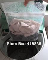 Free shipping-6pcs/lot 30X40cm;5pcs/lot 40X50cm; 4pcs/lot 50X60cm  Mesh Net Care Washing Bag, Clothes Laundry Lingerie
