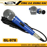 GL-978  Blue Electret Microphone Condenser