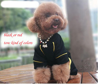 Free custom  pet dog clothes  rhinestone  skull pants  sportswear