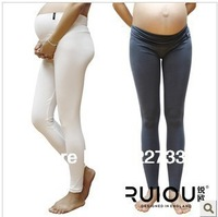 Free shipping!Fashion pregnant women pants organic cotton soft prop belly pants thin section Women's Leggings Ruiou