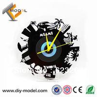 Miami Vice CD Record Wall Clock Innovative Home Decoration and Tourist Souvenirs Retail/Wholesale TC-S589