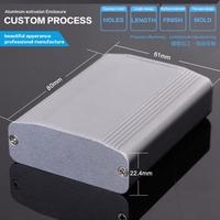 61*22.4*80 mm (w*h*l) Audio Amplifier fm enclosure