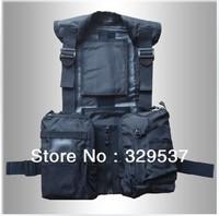 Free shipping 2013 new fishing vest Fishing jacket multi- pockets breathable vest Photography vest
