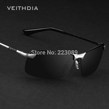 ! men's anti-UV sunglasses polarizer driver mirror driving sunglasses fishing ...
