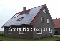 6KW home solar system , off grid solar power system include solar panel,6kw solar inverter and other parts,no battery