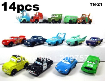 Wholesell Pixar Car Figures  PVC 14 pcs/set  Full Set for Gift