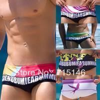 Free Shipping Men's Swiming Trunks Mens Swim Trunks Slim Swimwear  High Quality