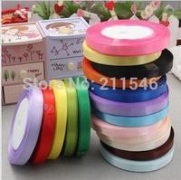 Free shipping 10pcs/Lot 1cm ribbon divisa ribbon gift packaging paper bouquet balloon ribbon 22 meters