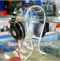 Free shipping 2013 The latest version acrylic headphone display stand/Headphone Display Stand