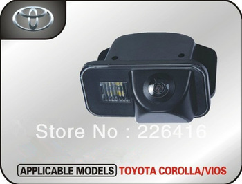 Hd Toyota corolla car dedicated spader CCD/vios rearview camera