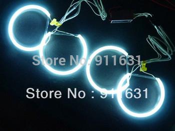 Free Shipping White Color CCFL Angel Eyes Halo Ring  For BMW Z3 Z4 E38 E90 E91 E46 NON  projector