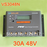 30A 48V EPsolar ViewStar Charge Controller Regulator VS2048N Solar cells panels Battery