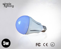 Free shipping New products for 2013  5W high power led 120cm bulb light ceramic housing E27 lamp warm cool white 2pcs/lot