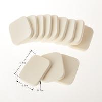 High Qulity 12PCS/lot Free Shipping Soft Facial Face Sponge Makeup Cosmetic Powder Puff