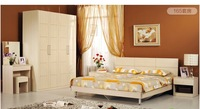 Furniture Bedroom 6 sets of combination of equipment plate Double bed + wardrobe + bedside cabinet + Dressing Table Specials