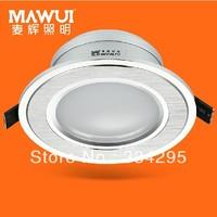 2.5' led downlight 5w full set of energy saving lamps 8CM living room ceiling downlight 7019