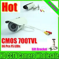 700TVL 36 IR CMOS color outdoor weather proof cctv camera security surveillance Equipment Free Shipping
