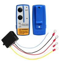Wireless Winch Remote Control Twin Handset 12 Volt 12V Easy To Install
