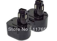 SIX BATTERIES For DEWALT 12V 2000mAh Power Tool DE9072 DE9074 DE9075 DW9071 BATTERY x 6