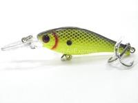 Fishing Lure Minnow Crankbait Hard Bait Fresh Water Shallow Water Bass Walleye Crappie Minnow Fishing Tackle M515X2
