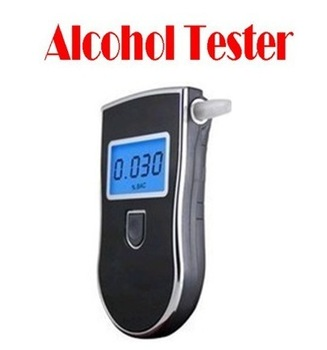 BY DHL OR EMS 50 PC China original H1912 Prefessional Police Digital Breath Alcohol Tester Breathalyzer