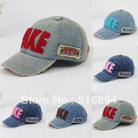 Hot 2013 Spring children's baseball cap hat TAKE cowboy hat parent-child cap 5 color children cap unisex 5pcs/lot free shipping