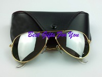 Wholesale men Polarized sunglasses New Female men sun glasses HOT with case free shipping