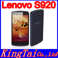 "Original Lenovo S920 MTK6589 quad core Android 4.2 mobile phone 5.3"" IPS 1280x720px screen 1GB RAM 8.0mp"