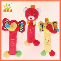 Free shipping Animal baby toys0-12months toys for kids baby toys educational 3styles/Lot