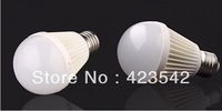 Wholesale&free shipping Bubble Ball Bulb AC85-265V 6W 9W 12W15W E27 LED Light Bulbs Lamp Lighting Warm/Cool White
