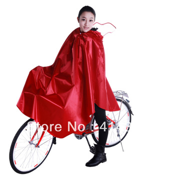 Fedex Free Shipping YW5802 New Design Fashion big waterproof brim Bicycle King size Rain poncho