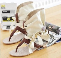 Free shipping NEW flats sandals fashion women dress sexy shoes slippers S236 Hot sale EUR size 34-43