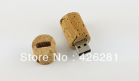 Wine Wooden Plug Usb Flash Drive/ Disk/ Memory Stick Usb 2.0 available 1GB 2GB 4GB 8GB 16GB 32GB