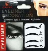 Free shipping temperary  eye liner sticker  26 sets per lot item EY 02